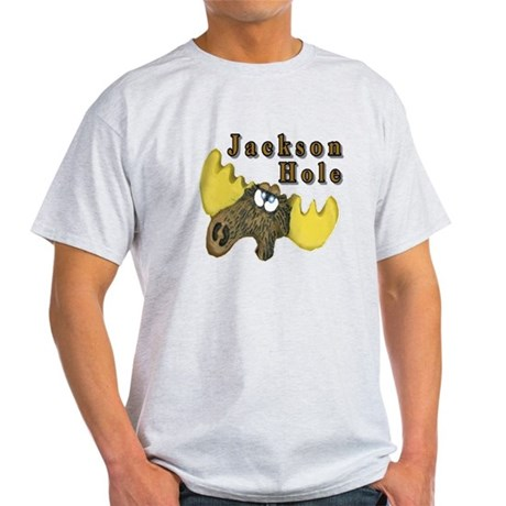 Jackson Hole moose Light T-Shirt