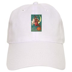 Witch and Owl Baseball Cap