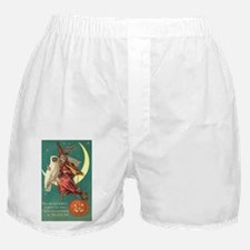 Witch and Owl Boxer Shorts
