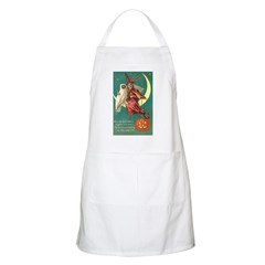 Witch and Owl BBQ Apron