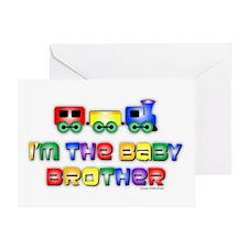 Baby Bro Choo Choo Train Greeting Card