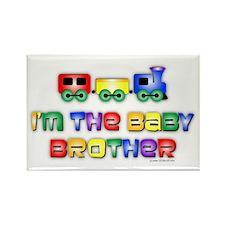 Baby Bro Choo Choo Train Rectangle Magnet