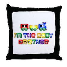 Baby Bro Choo Choo Train Throw Pillow