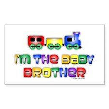 Baby Bro Choo Choo Train Rectangle Decal