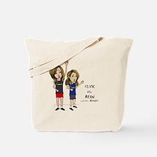 Cute Bean Tote Bag