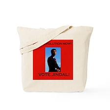 Stop Evolution Now! Vote Jindal! Tote Bag