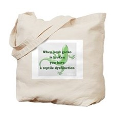 Reptile Dysfunction Tote Bag