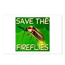 Save The Fireflies Postcards (Package of 8)