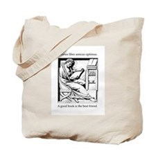 A good book is the best friend Tote Bag