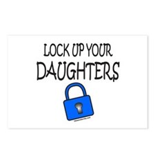 LOCK UP YOUR DAUGHTERS Postcards (Package of 8)