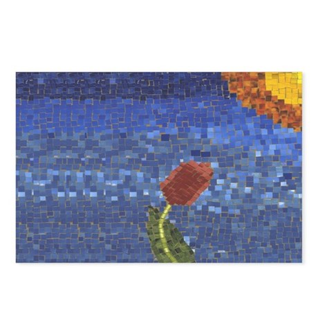 Mozaic Tulip Postcards (Package of 8)