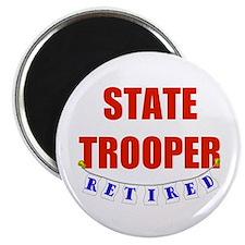 Retired State Trooper Magnet