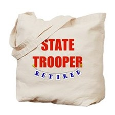 Retired State Trooper Tote Bag