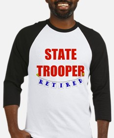 Retired State Trooper Baseball Jersey