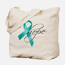 Cervical Cancer Ribbon Hope Tote Bag