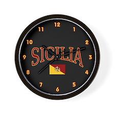 Sicilia Wall Clock