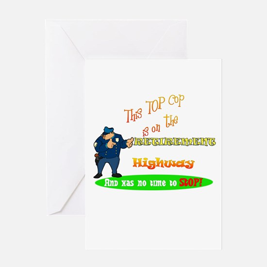 'Retirement Highway.2 :-)' Greeting Card
