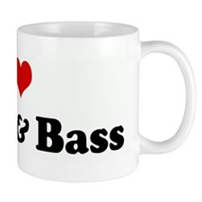 I Love Drum & Bass Small Mug