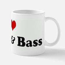 I Love Drum & Bass Small Small Mug