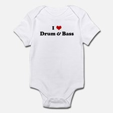 I Love Drum & Bass Onesie