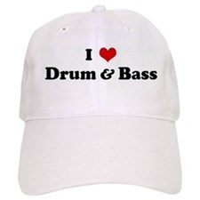 I Love Drum & Bass Baseball Baseball Cap