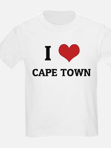 I Love Cape Town Kids T-Shirt