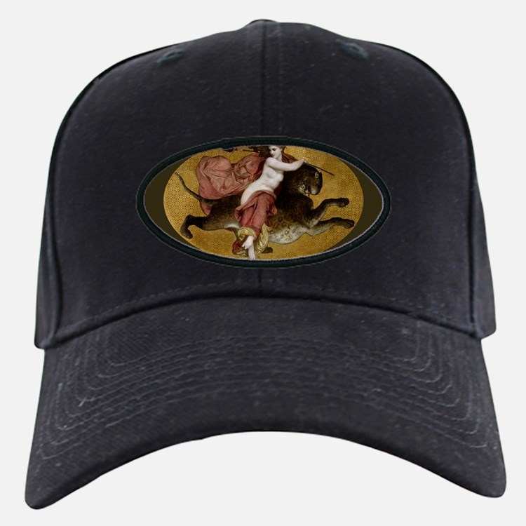 Bacchante on a Panther Greek Mythology Baseball Hat