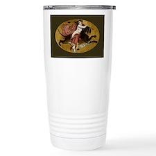Bacchante on a Panther Greek Mythology Travel Mug