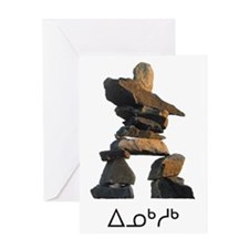 Inukshuk Greeting Card