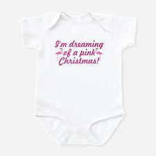 Pink Christmas Infant Bodysuit
