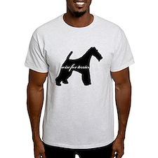Wire Fox Terrier DESIGN T-Shirt