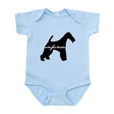 Wire Fox Terrier DESIGN Infant Bodysuit