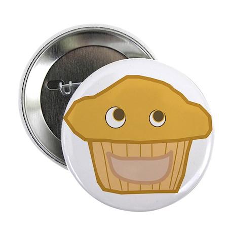 "Plain Muffin 2.25"" Button"