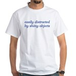 Shiny Objects White T-Shirt