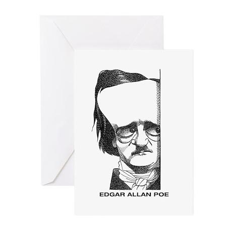Edgar Allan Poe Greeting Cards (Pk of 20)