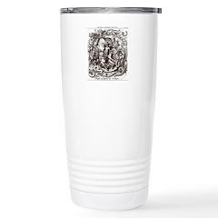 Darwin Evolution Cartoon Travel Mug