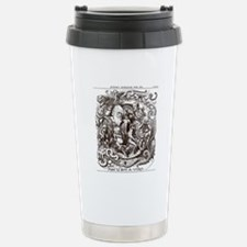 Darwin Evolution Cartoon Travel Mug