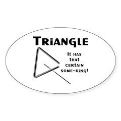 Some Ding Oval Sticker (50 pk)