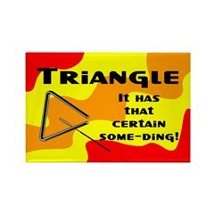 Some Ding Rectangle Magnet (100 pack)