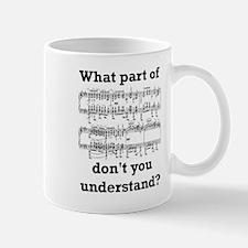 The Musician Small Mugs