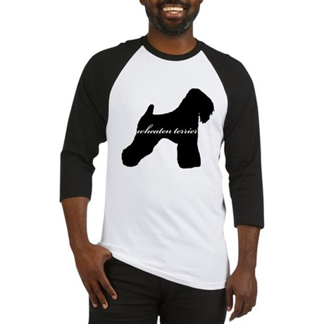 Wheaten Terrier DESIGN Baseball Jersey