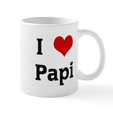 I Love Papi Mug