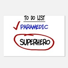 To Do List- Paramedic Postcards (Package of 8)