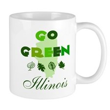 Go Green Illinois Mug