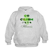 Go Green Illinois Hoodie