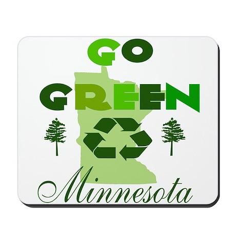 Go Green Minnesota Mousepad