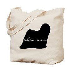 Tibetan Terrier DESIGN Tote Bag