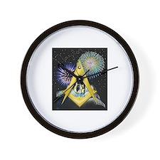 Celebrate Freemasonry Wall Clock