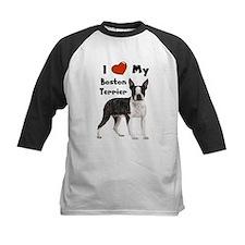 I Love My Boston Terrier Tee