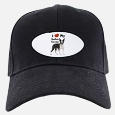 I Love My Boston Terrier Baseball Hat